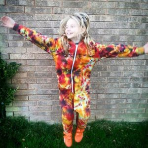 Tie Dye Custom All In One Onesie