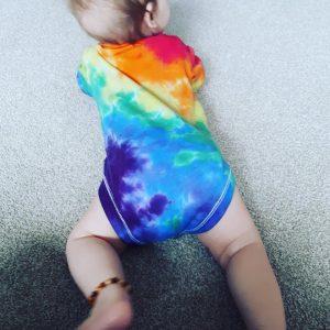 Custom Tie Dye Baby Vest